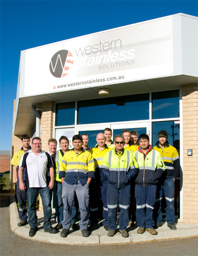 Western Stainless Solutions - Group Shot