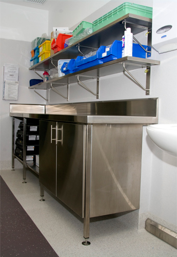 Western Stainless Solutions - Stainless Top and Cabinet 2